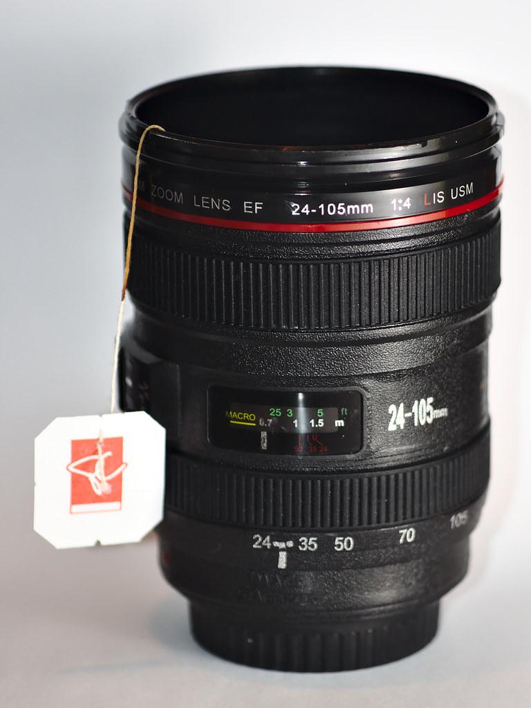 Day 149: Camera lens... mug?