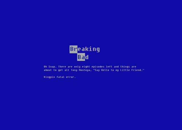 Breaking Bad Blue Screen Of Death