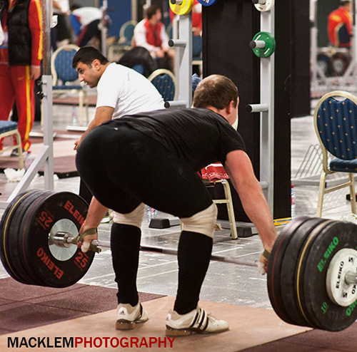Ivanov RUS 94kg Olympic weightlifter