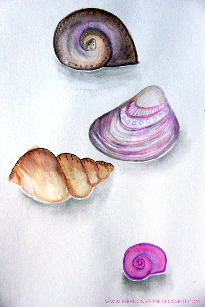 Watercolour Shells