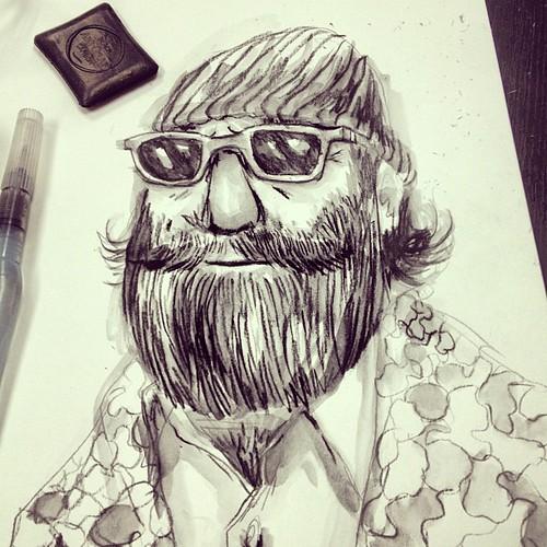 Cool beardo.