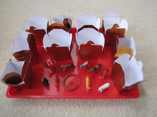 Chinese New Year Tray from H is for Homeschooling