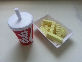 Felt Cola and French Fries