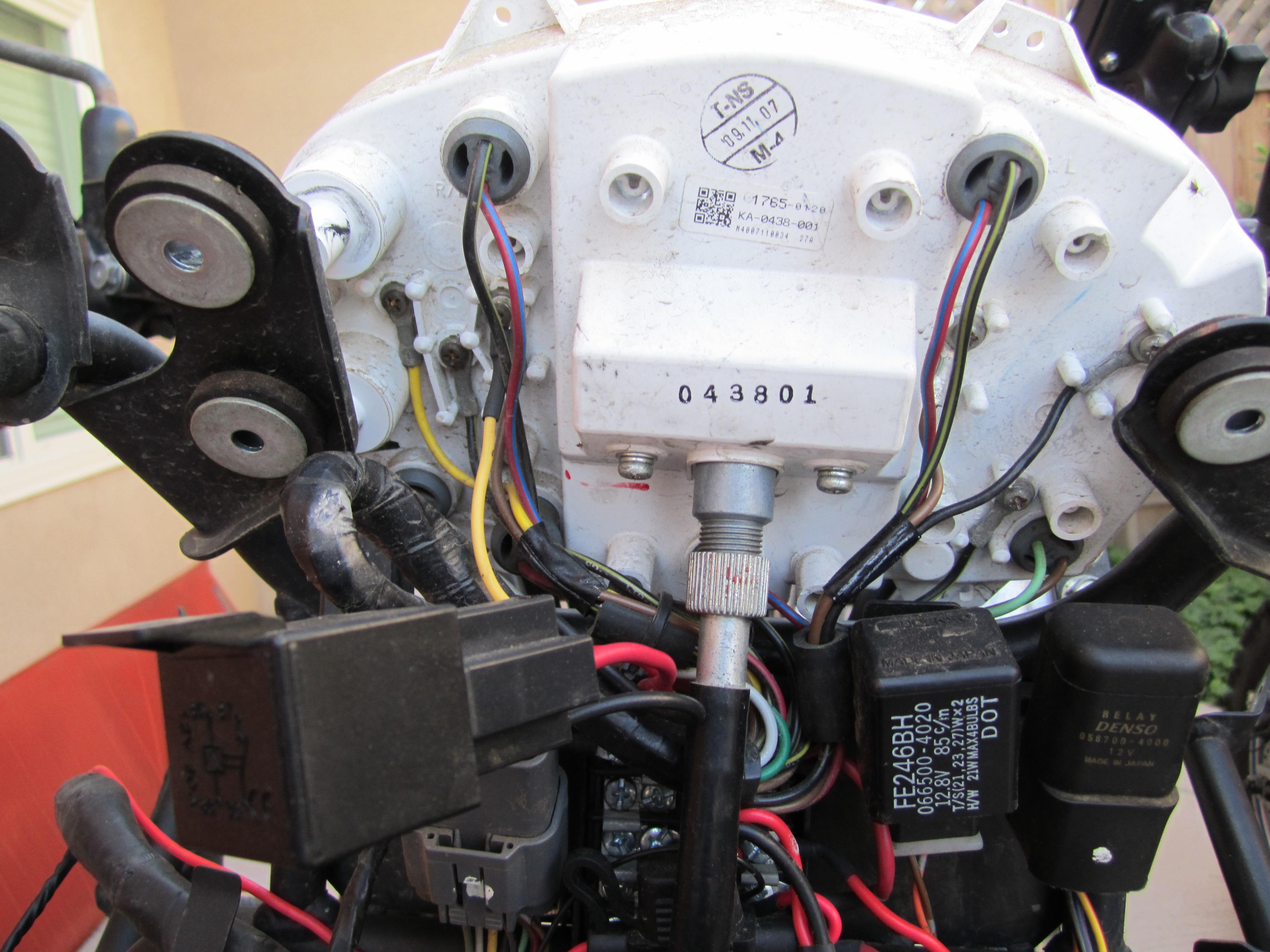 Wiring LED marker lights - Kawasaki KLR 650 Forum