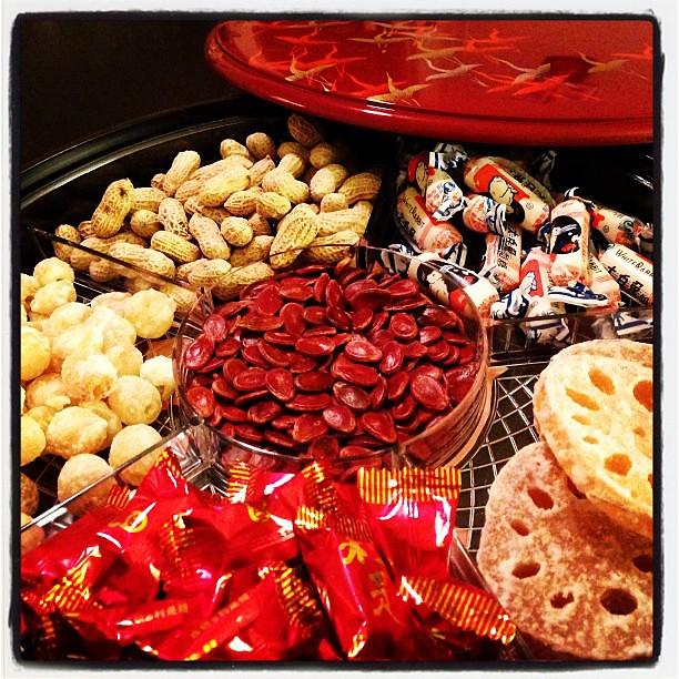 Chinese New Year candy box ready to go! #chinesenewyear # ...