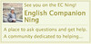 English Companion Ning Badge