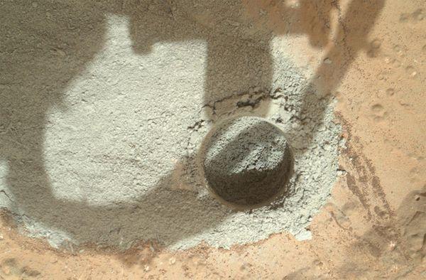 Марсоход Curiosity обнаружил нечто потрясающее