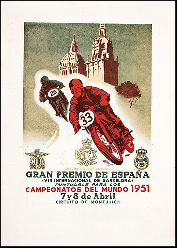 1951 Spanish GP by bullittmcqueen