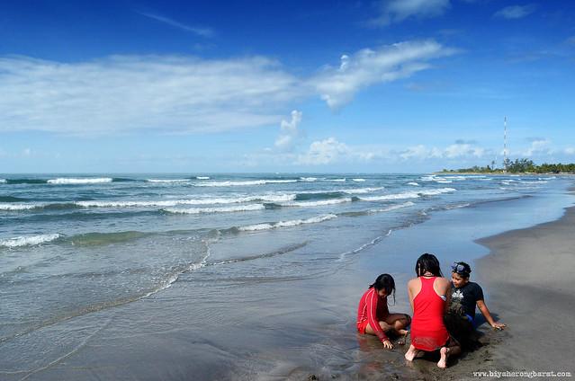Baranggay Bangantalinga Beach in Iba Zambales