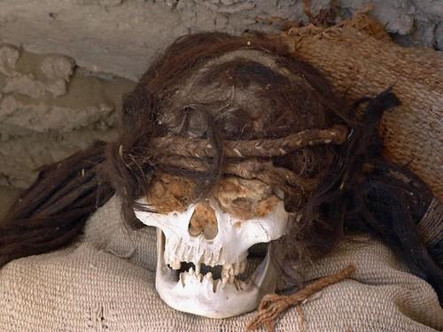 Fotografía tomada en el Cementerio de Chauchilla (Perú)