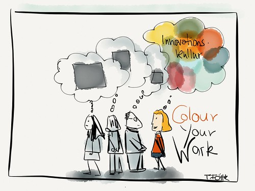 Colour Your Work.. with your ideas by Tanja FÖHR