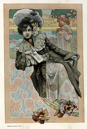 014-Dibujo de Gaspar Camps- Album Salon Enero 1903-Hemeroteca de la Biblioteca Nacional de España