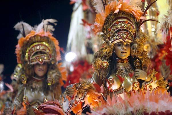 Carnavales en Río de Janeiro