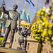 Disneyland — Springtime in the Central Plaza by andy castro
