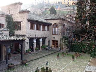 Hacienda del Cardenal, en Toledo.