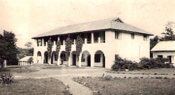 c 1948. The first St Louis convent in Ado Ekiti, Nigeria