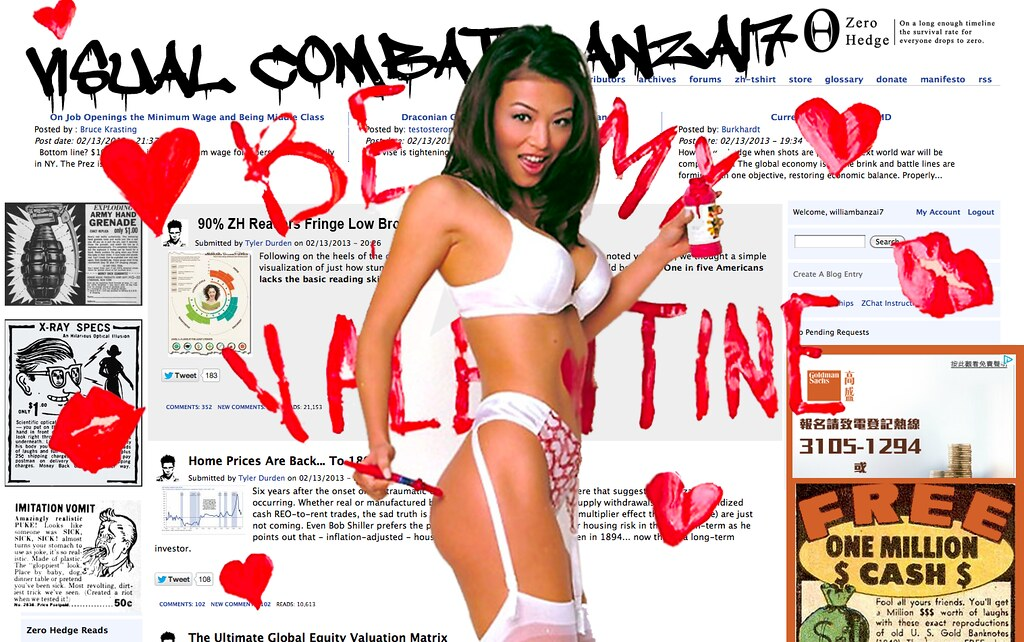 ZERO HEDGE VALENTINE 2013