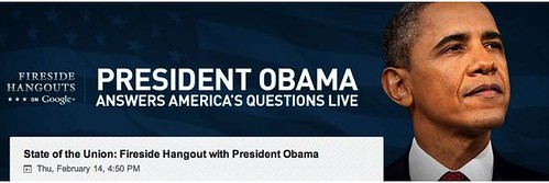 Limor Fried of Adafruit Fireside Hangout with Obama 2/14 4:50 EST by mikey and wendy