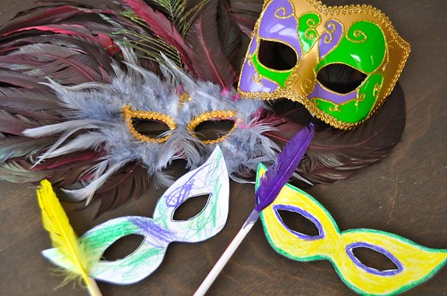 Mardi Gras Mask Preschool