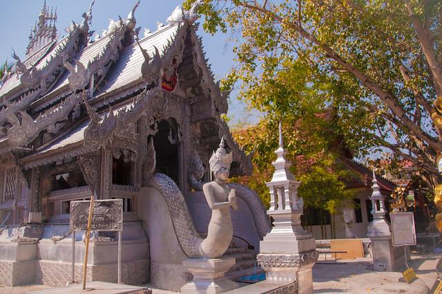Wat Sri Suphan Silver Ubosot, Chiang Mai