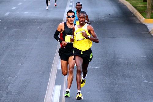 Julius Keter y Juan Luis Barrios Medio Maraton Guadalajara 2013