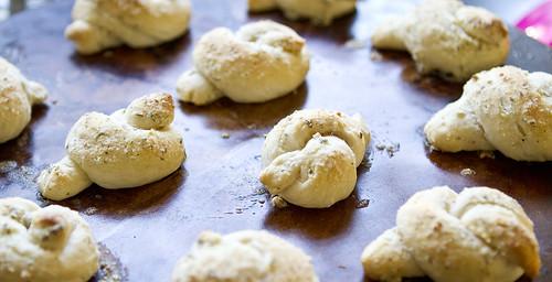 parmesan knots