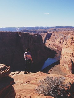 Sarah Collins. Horseshoe bend. Page, Arizona