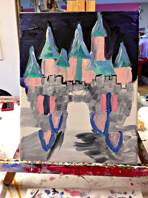 Castle in Progress