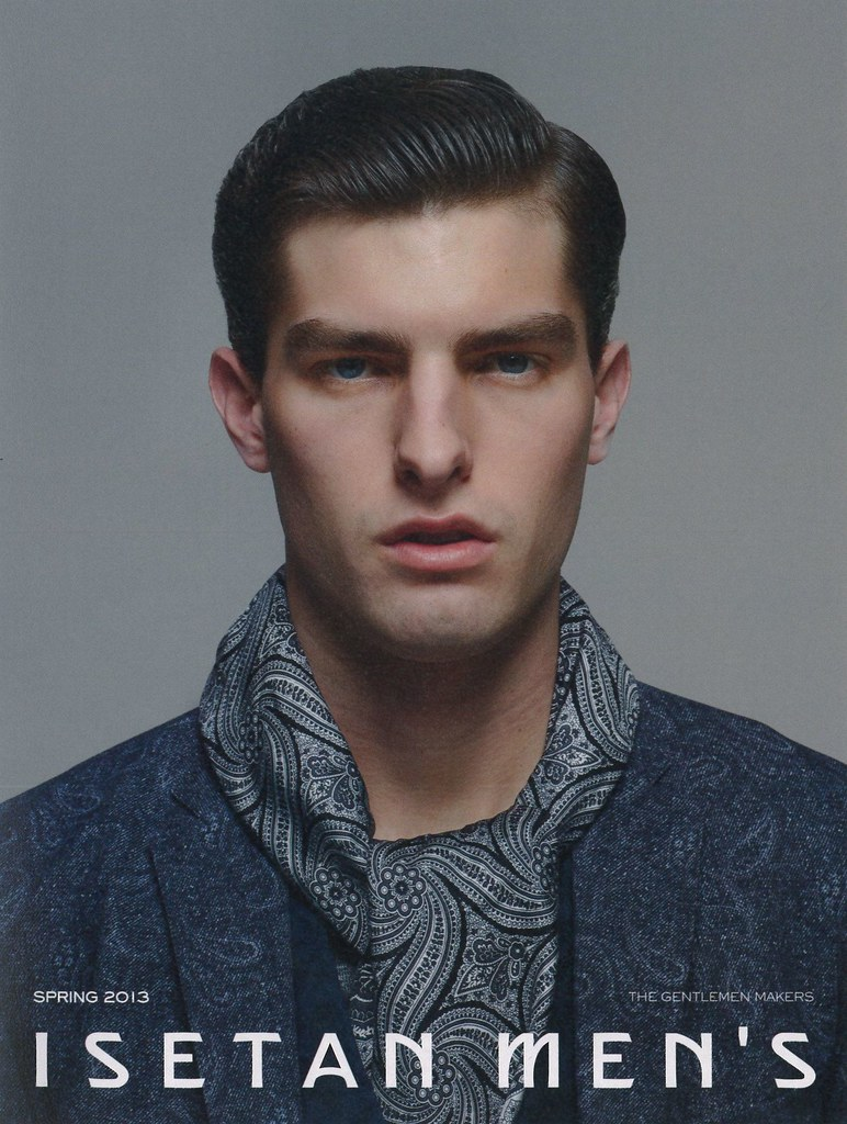 ISETAN MEN'S SPRING 2013_001Paolo Anchisi(super sonic blog)