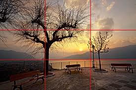 5 regola dei terzi tramonto