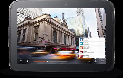 Ubuntu sur Tablette