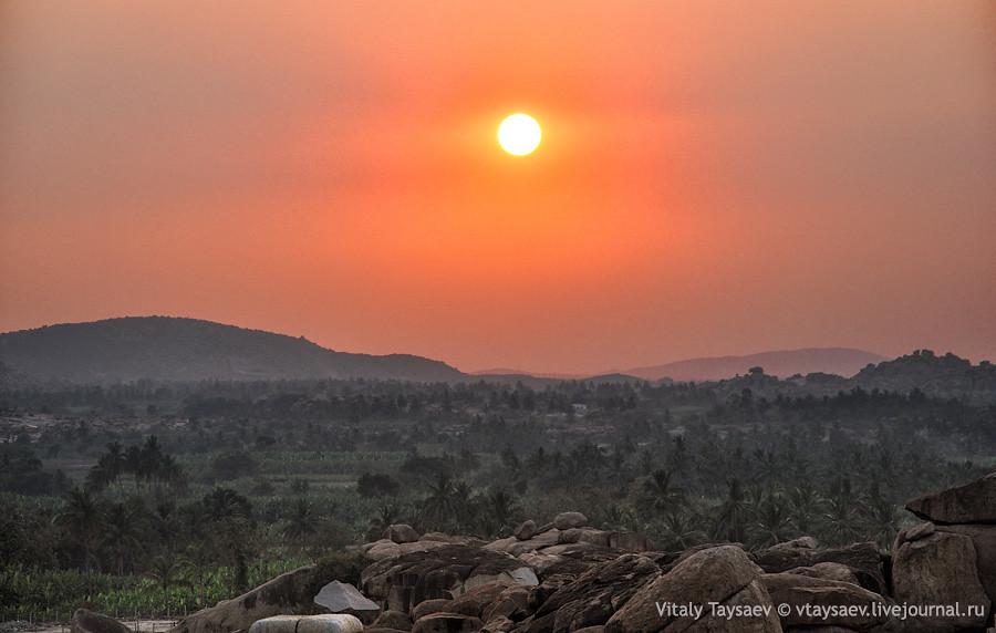 Hampi valley, Karnataka, India
