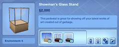 Showman's Glass Stand