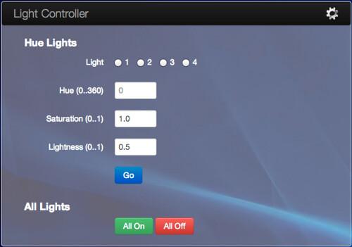 Light Controller Panel