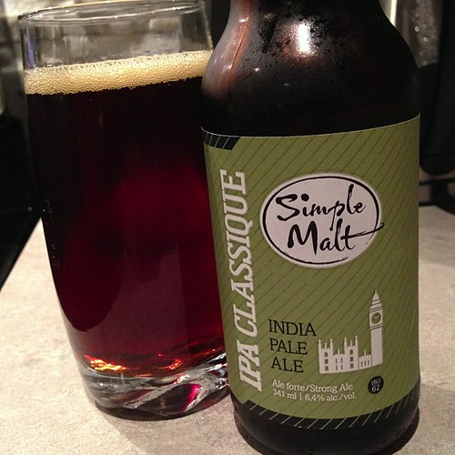 Simple Malt IPA Classique.  More Quebec beer.