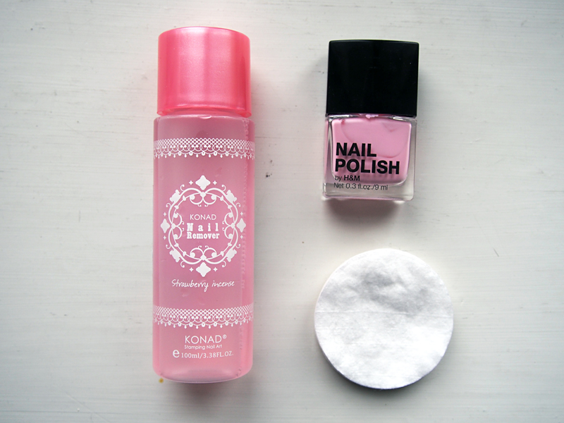 konad strawberry nail polish remover