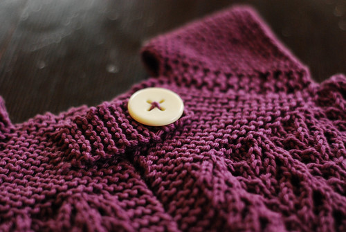 Abby Sweater Button Detail