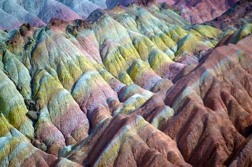 Danxia Landformation, Zhangye, Gansu, CN