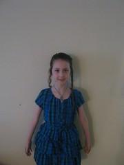 Meg in Blue Dress