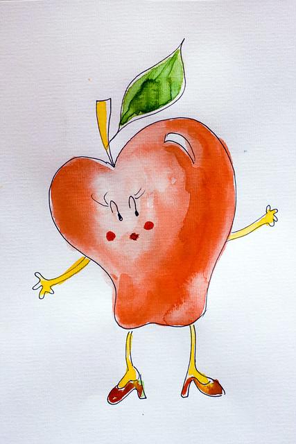 Bébé gourmand: Merenda di mela (o di pera)