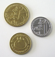 EBT metallic tokens