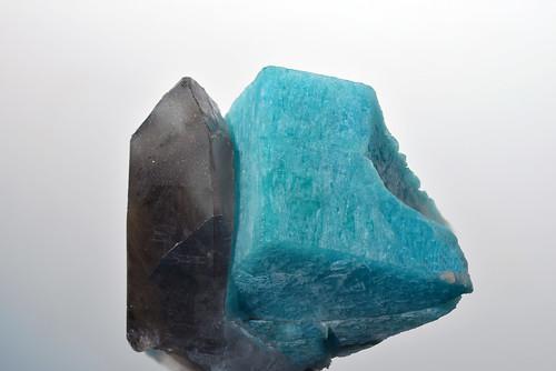 Smoky quartz&Amazonite