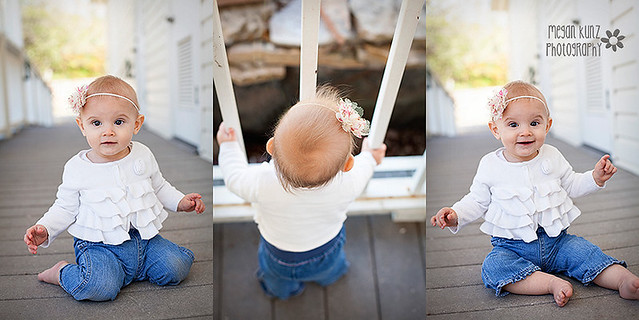 Waco Texas Photographer Megan Kunz Photography Adelyn 9 Months Trio
