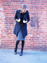 workwear stella mccartney boots vintage dior skirt my fair vanity style blog 8