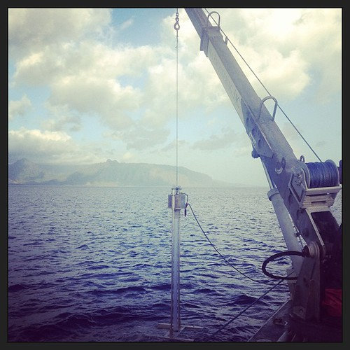 Gravity's vibracore working off the coast of Oahu by gravityenv