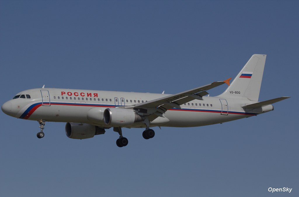 Rossiya - Russian Airlines Airbus A320-214 VQ-BDQ (cn 1767)