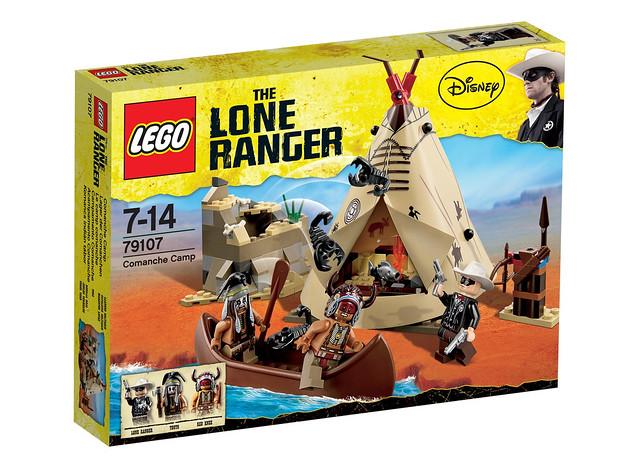 LEGO The Lone Ranger 79107 - Comanche Camp - BoxArt