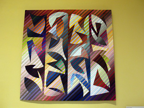 Michael James: Quilt #150, Rehoboth Meander