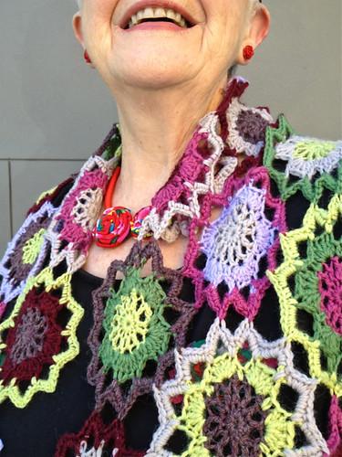 Crochet scarf 2