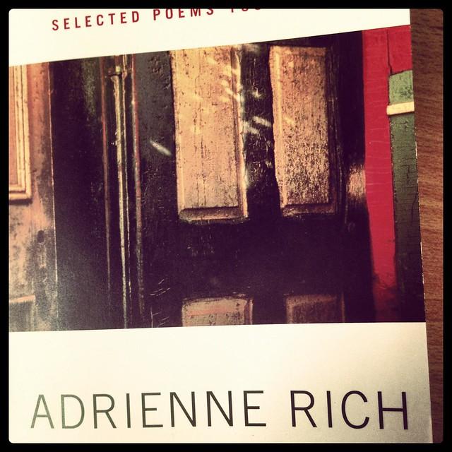Header of Adrienne Rich